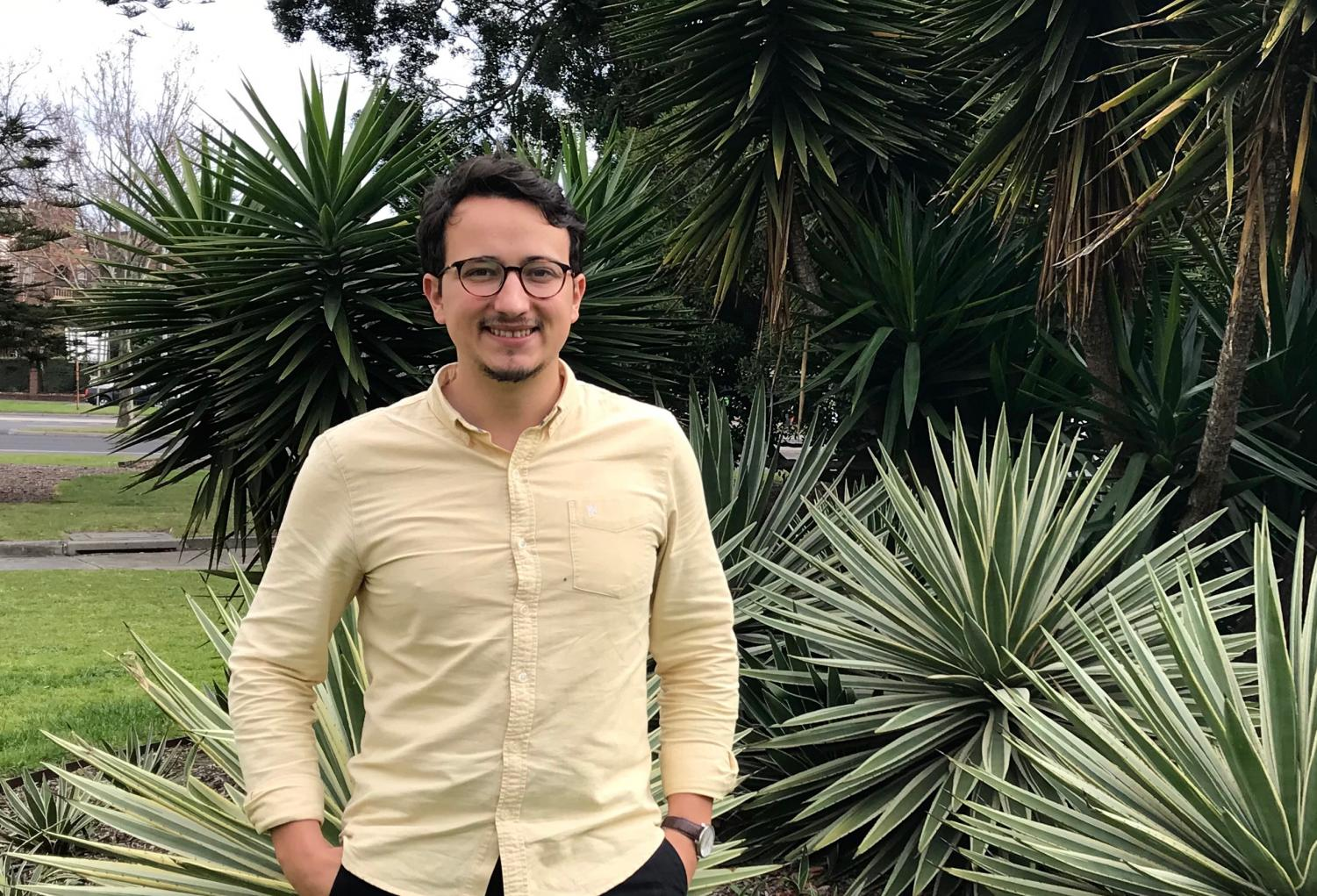 Greens candidate for Albert Park, Ogy Simic at the St Kilda Town Hall. Photo Credit: Elise Labuschagne