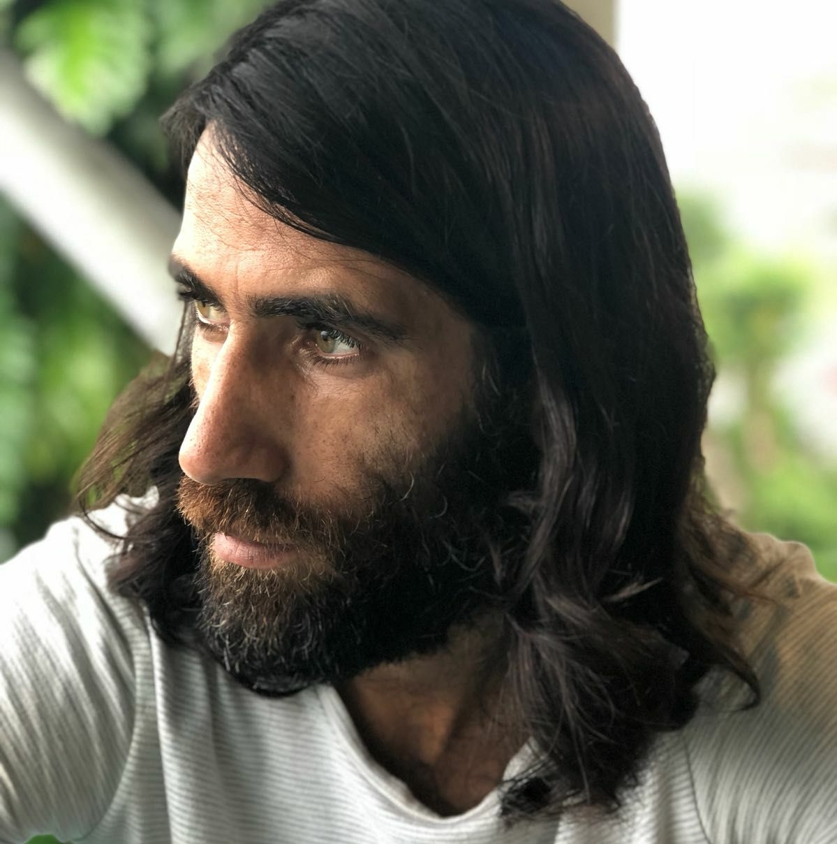 Behrouz Boochani. Photo by Hoda Afshar, Facebook