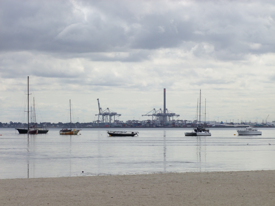 Port Melbourne will be transformed with the development of Fishermans Bend. Photo: Lucy Williams.