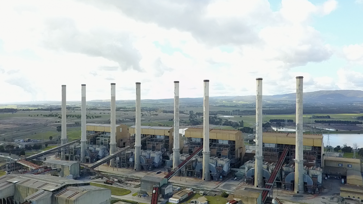 The now dormant Hazelwood Power Station. Photo: Andrew Dodd