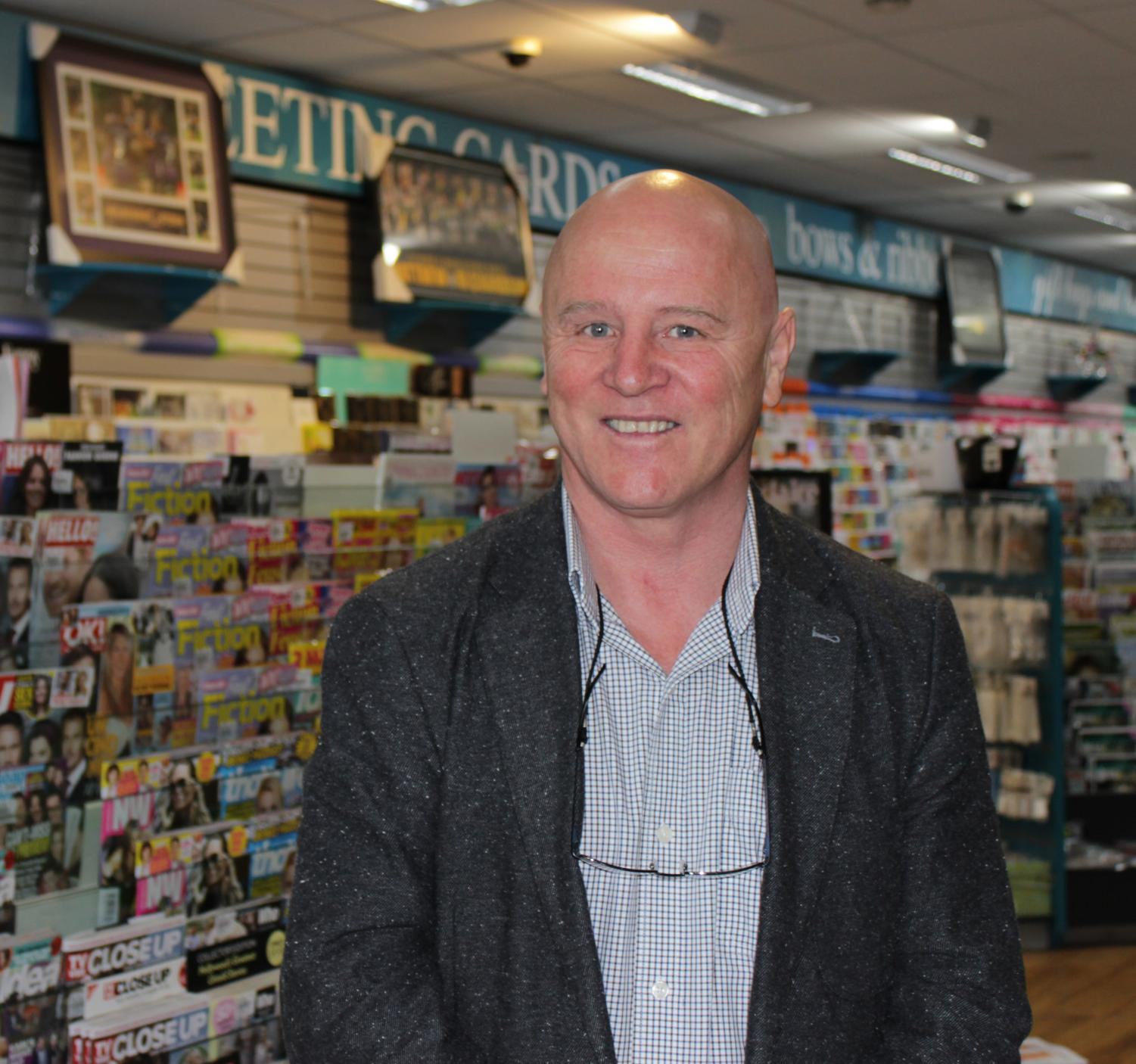 Newsagent and former State Electricity Commission worker Ray Burgess is standing as an independent candidate for the electorate of Morwell.