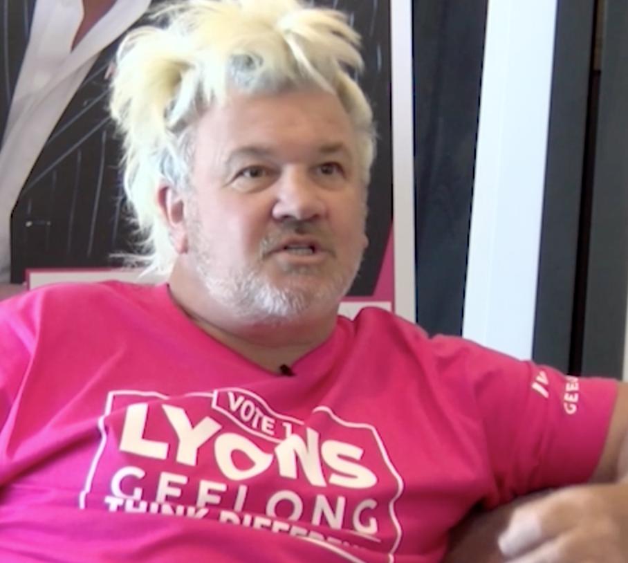 Darryn Lyons Geelong candidate