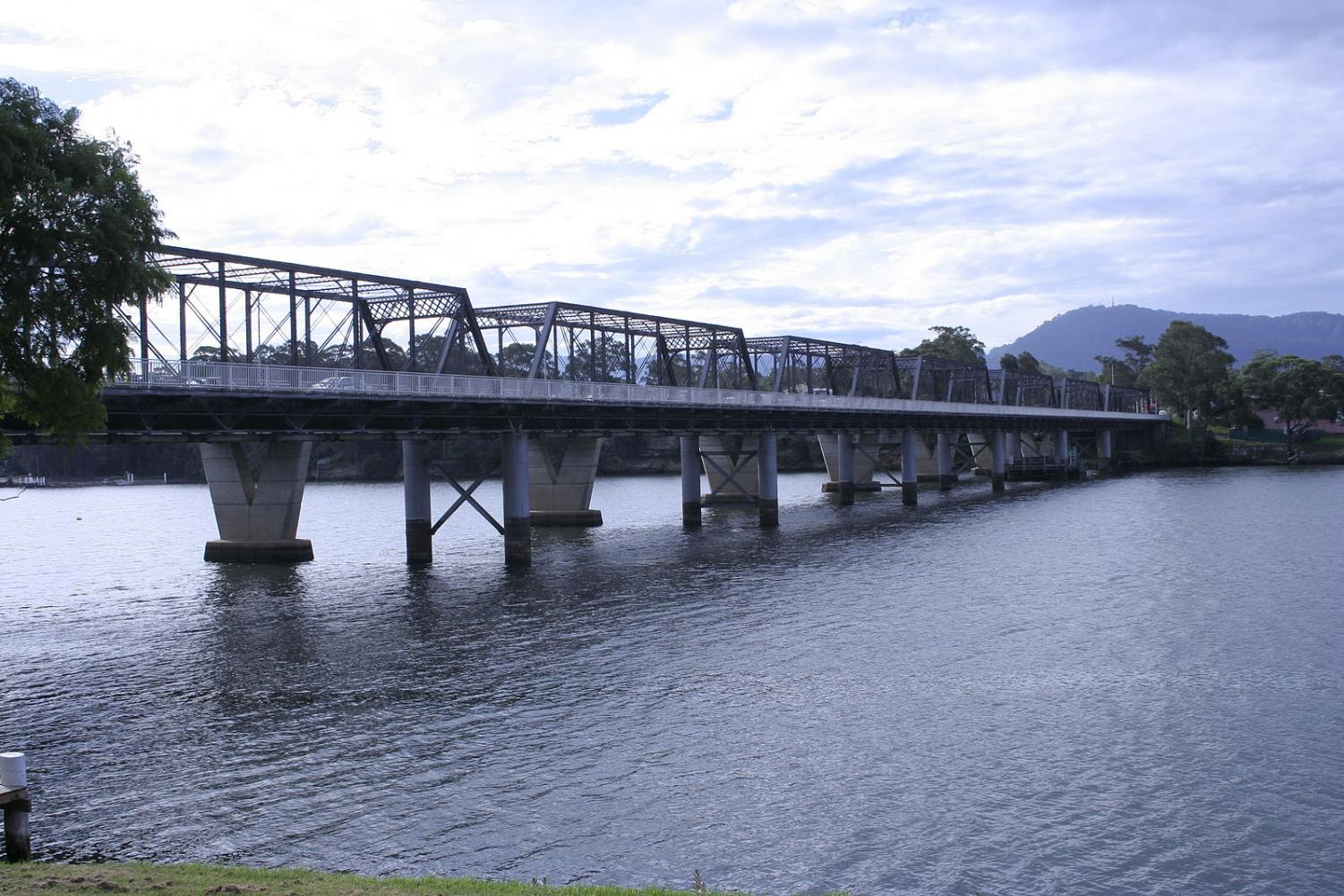 Nowra bridge over Shoalhaven River in Gilmore electorate
