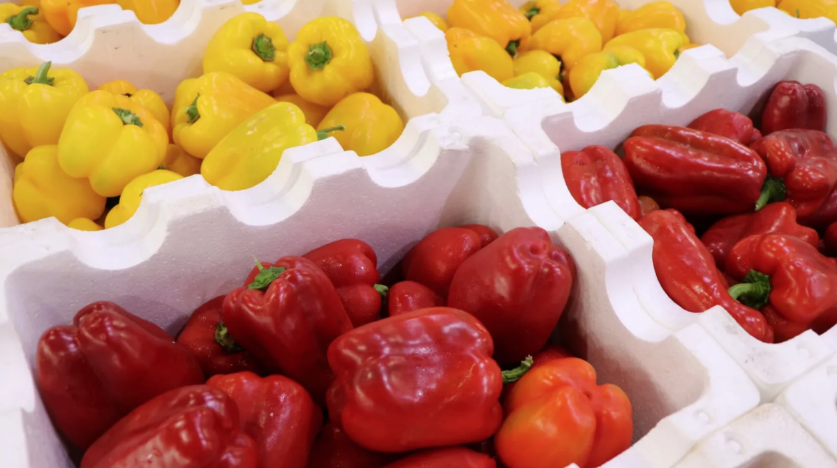 Fresh produce at the Sydney Markets