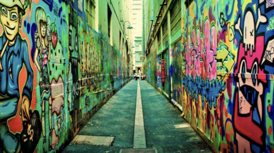 The+city+is+a+vibrant+cultural+and+social+hub+famous+for+its+laneways.+