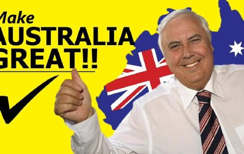 Once a Green, he's now for Clive Palmer