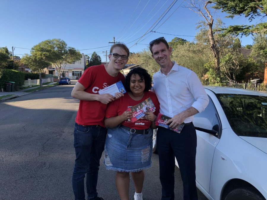 A doorknocking surprise for Reid's Sam Crosby