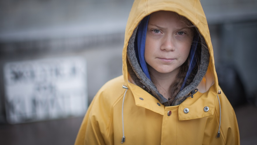 In+August+2018%2C+outside+the+Swedish+parliament+building%2C+Greta+Thunberg+started+a+school+strike+for+the+climate.+Photo+CC+4.0+%28c%29+Andrew+Hellberg+