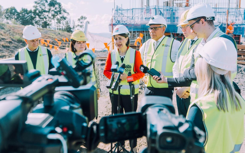 NSW Premier Gladys Berejiklian has thrown her weight behind Liberal candidate for Gilmore Warren Mundine.