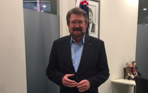 From his St Kilda office, Derryn Hinch contemplates the prospect of another six years in the Senate