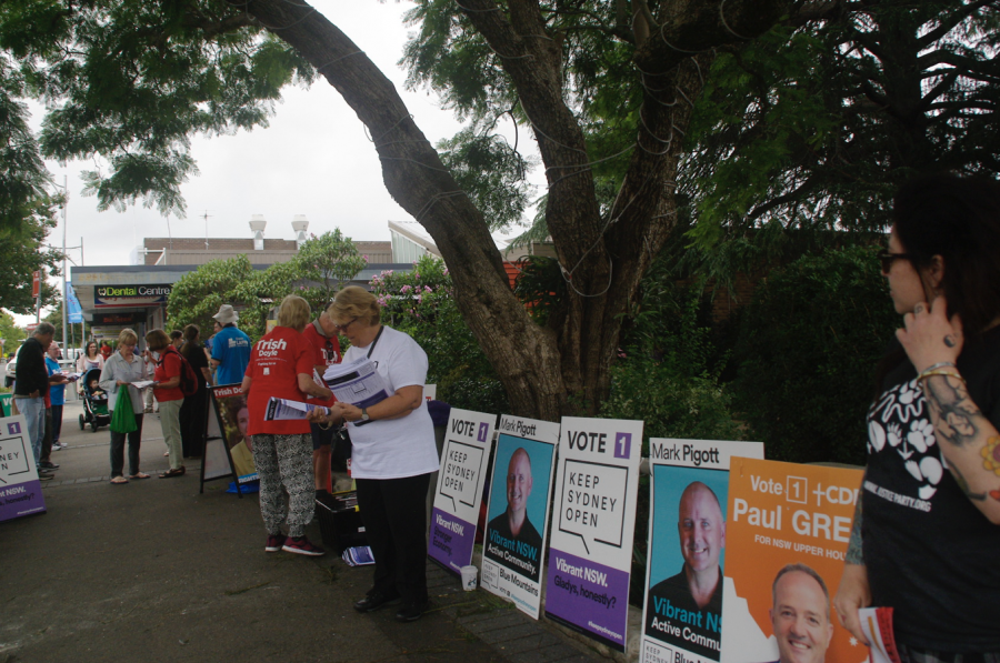 Election+campaign+in+Springwood+NSW+