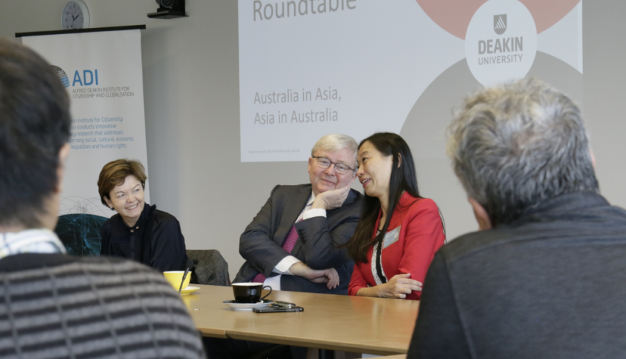 Rudd discusses the Asian vote at Chisholm round-table