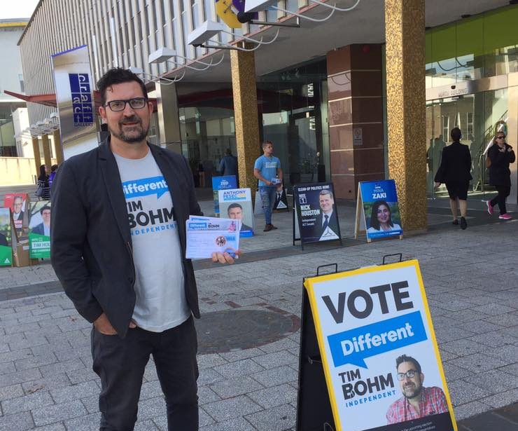 Independent Bohm pushes for more power to the people